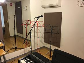 ノビノビとボイトレ!<br /> リラックスできるスタジオ!